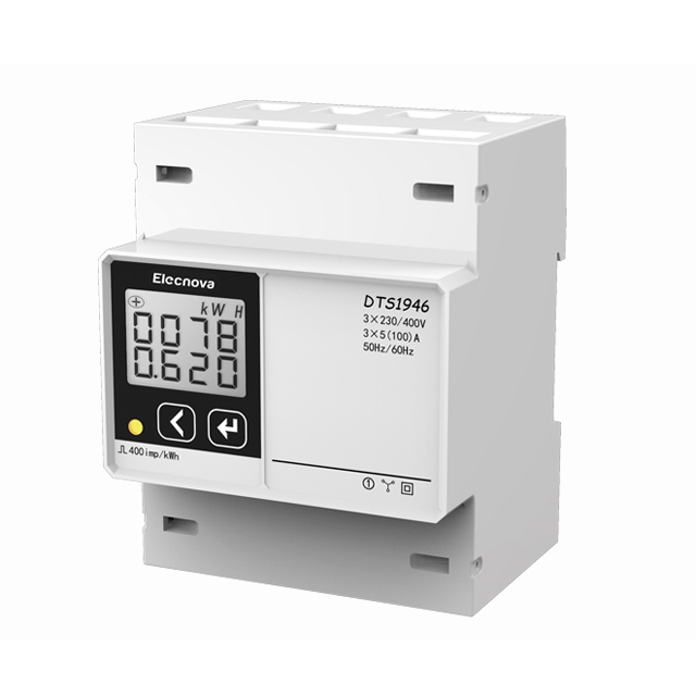 DTS1946-4P Din Rail Mounted Energy Meter